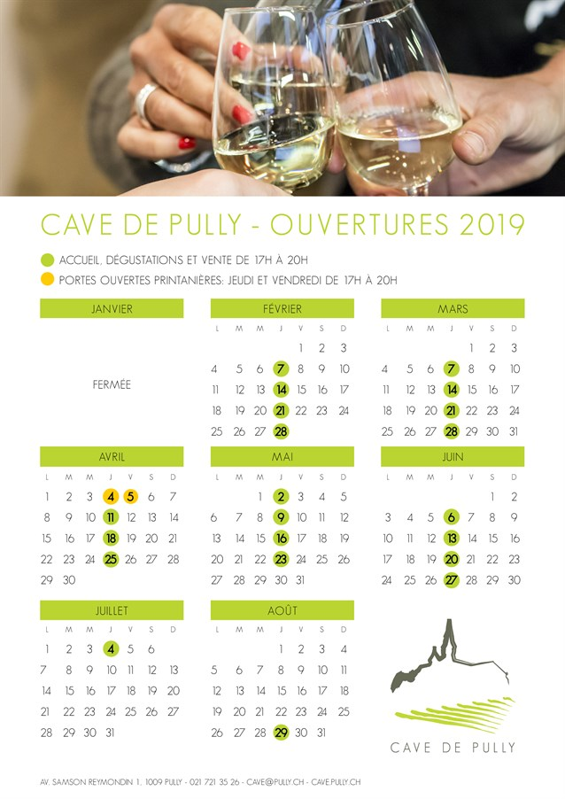 Horaires Cave 2019 New